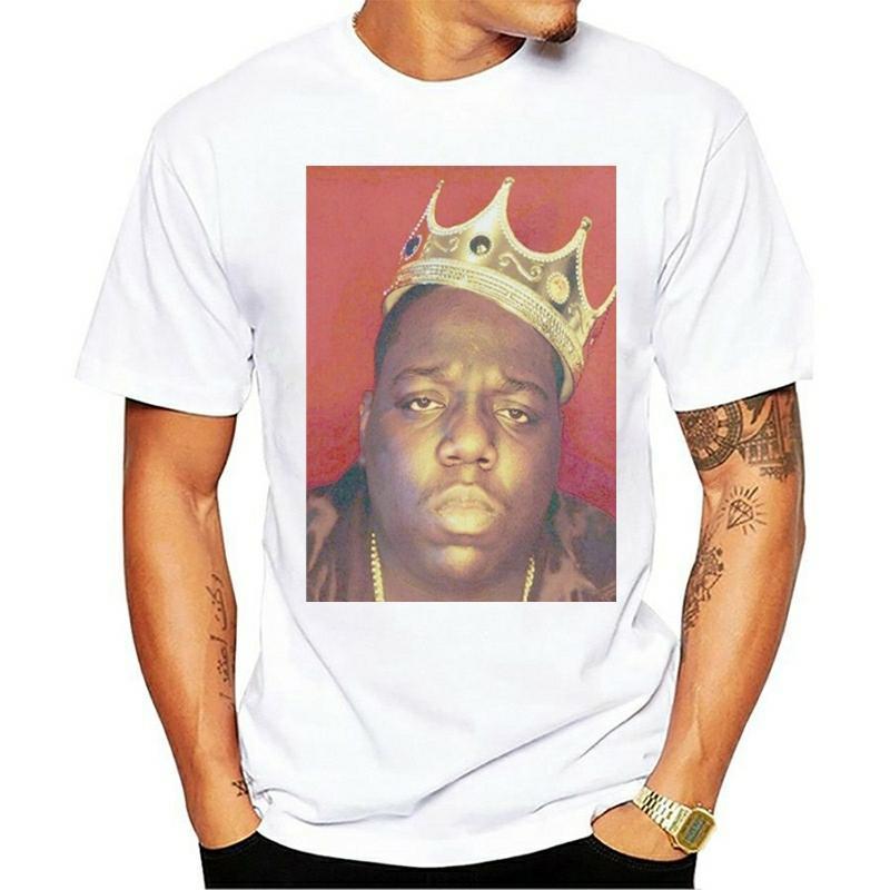 A B I L Biggie T-shirt Notorious Smalls mulheres homens unisex Tee Top Slim Fit Camisetas Rapper