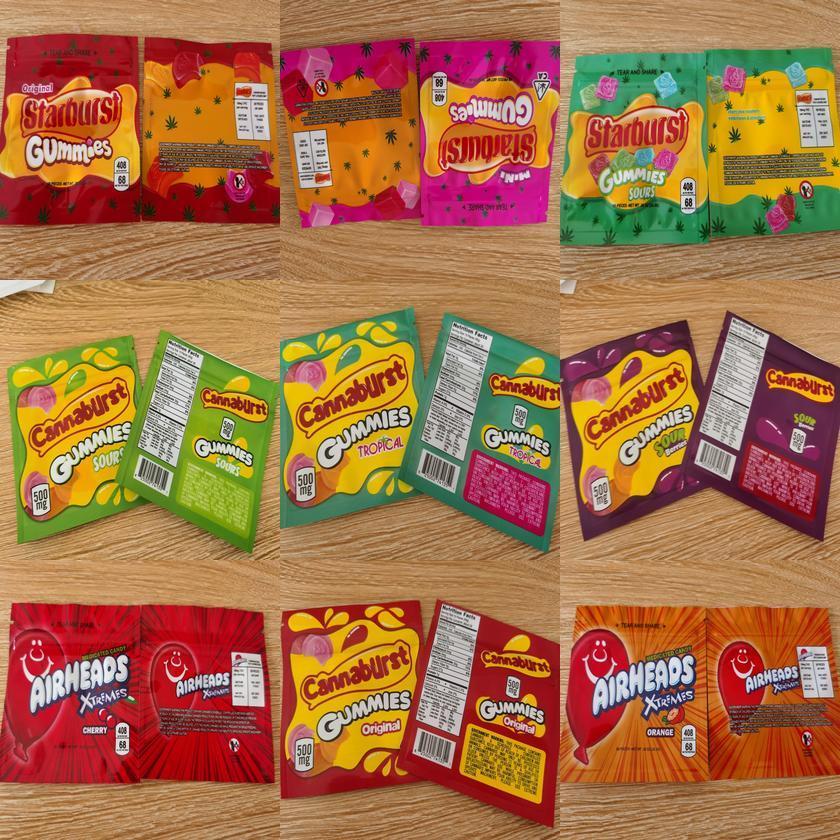 Zipper Skittles Пакет Proof Starburst 400мг Xtremes 408mg Dhl Упаковка Сумка боеголовки Пустой Airheads Free пахнет mRQym hwjh