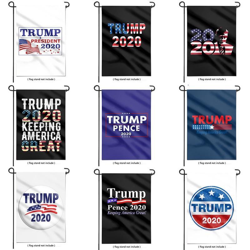 2020 Trump козыря президентских выборов флаг TRUMP открытого украшение сад баннер 20 стилей повесить флаг 30 * 45см T3I51180