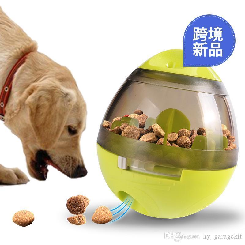 Новая странное животное кошки весело стекла кормления игрушка еда утечка шарик воспитательные еду течь устройство потехи кота интерактивную игрушку