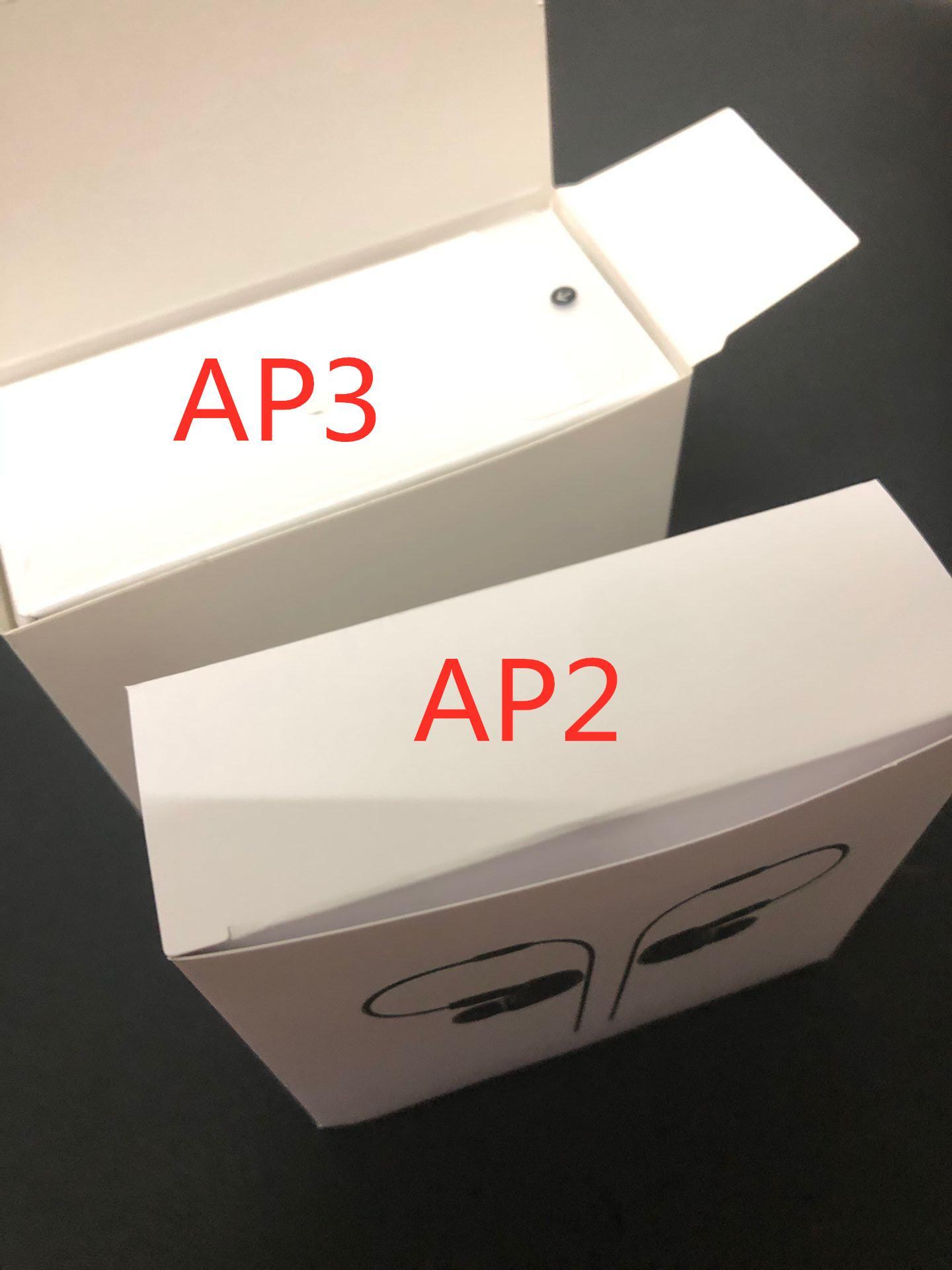 Новые Galaxy Почки + наушники Air 2 воздуха 3 про H1 чип Переименован гарнитура второго третьего поколения беспроводной зарядки Bluetooth наушники с GPS