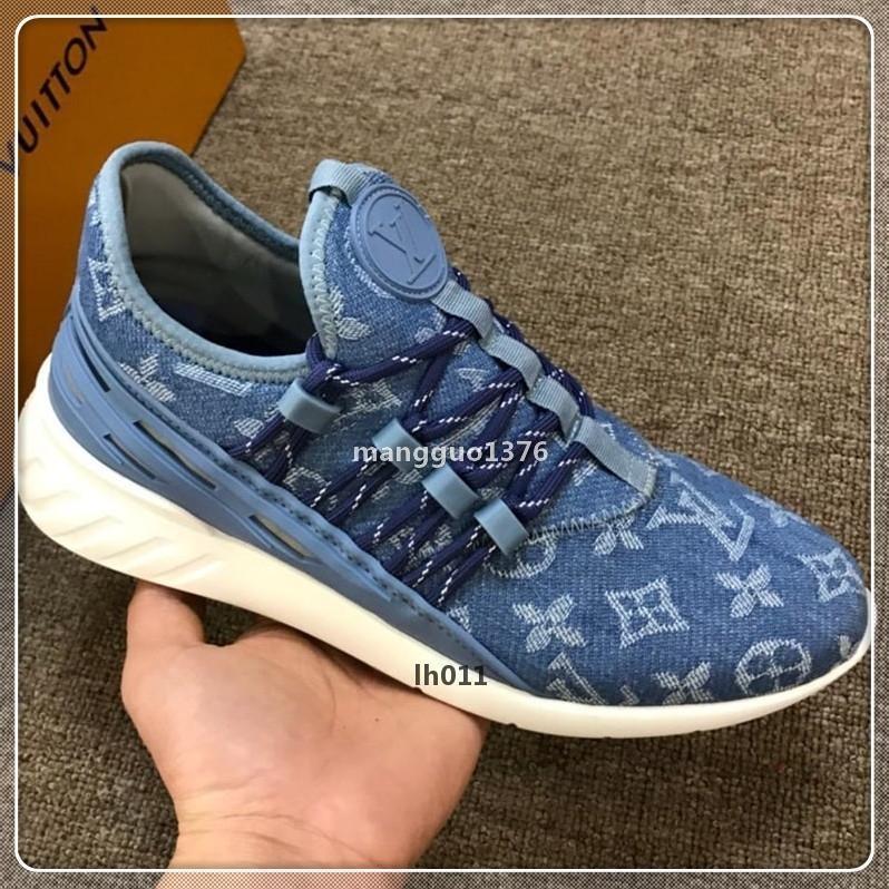 luxedesign Chaussures de sport de luxe Lo m1-Top Zapatos Hombre Mode cuir Flats Derbies hommes avec la taille de la boîte originale 38-45