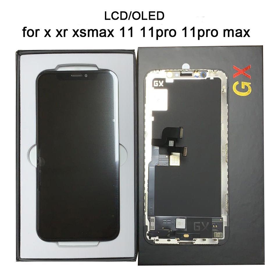 عالية الجودة LCD OLED للآيفون س XR XS xsmax 11 11pro 11promax العرض 3D محول الأرقام شاشة تعمل باللمس اختبار الجمعية 100٪ TFT OLED INCELL