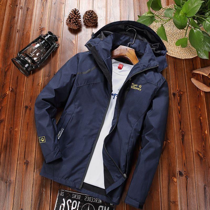 rXpkr primavera alpinismo e l'autunno impermeabile traspirante sottile vestiti del cappotto esterno Four Seasons uomo antivento abbigliamento singola La ZziW9