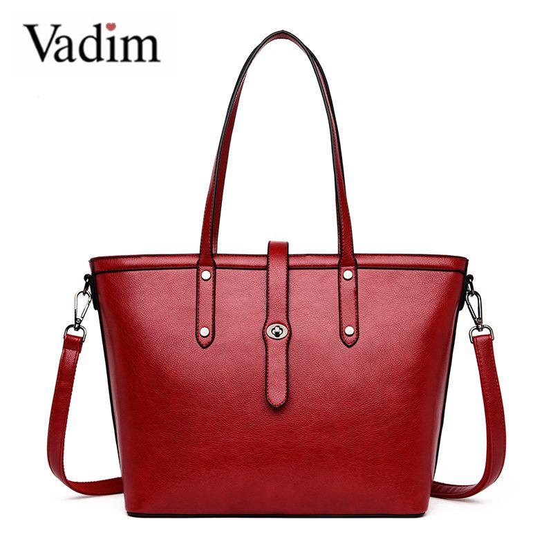 Vadim Retro Handtaschen-Frauen Top-Griff-Beutel Crossbody Female Schultertasche Große Kapazität beiläufige Totes Damen Messenger Bag Bolsos