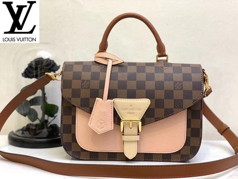 vvtisks2 FA50 L N40146 série d'échecs lumière messager épaule sac à main emblématique de nouvelles femmes roses SAC