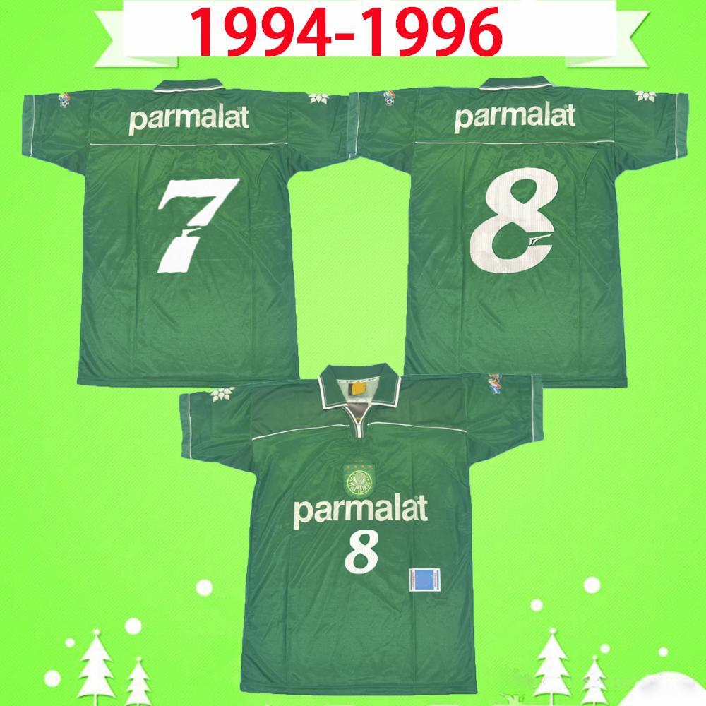 قمصان كرة قدم كلاسيكية من PALMEIRAS لعام 1999 99 منزل أخضر عتيق قمصان Camiseta de futbol كلاسيكية لكرة القدم عالية الجودة التايلاندية