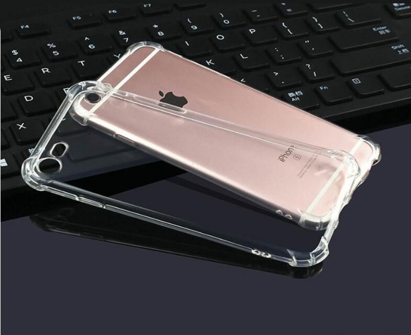 Прозрачный сотовый телефон чехол для iPhone 6 7 8 Plus 11 Pro MAX XS XR для Samsung S8 S9 S10 Note10 TPU Защитный противоударный Clear обложка чехол