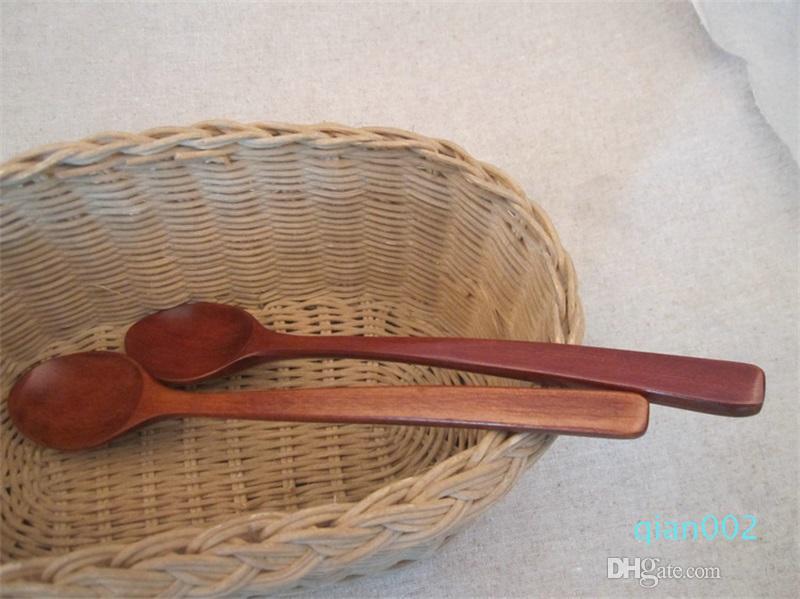 Exquisite Conveniente Terno Chopsticks e colher de madeira de viagens ao ar livre portáteis artigos Louça Cozinha Eco-friendly presente 6 2tr ii