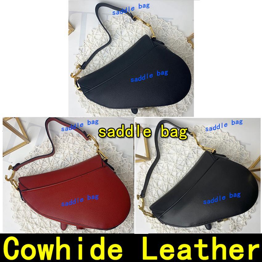 Sacchetto della sella in vera pelle borsa Vieni con la cinghia e la casella Dimensione 25,5 centimetri Crossbody donne borsa a tracolla borse borsa borsa tote borse ciondolo in metallo