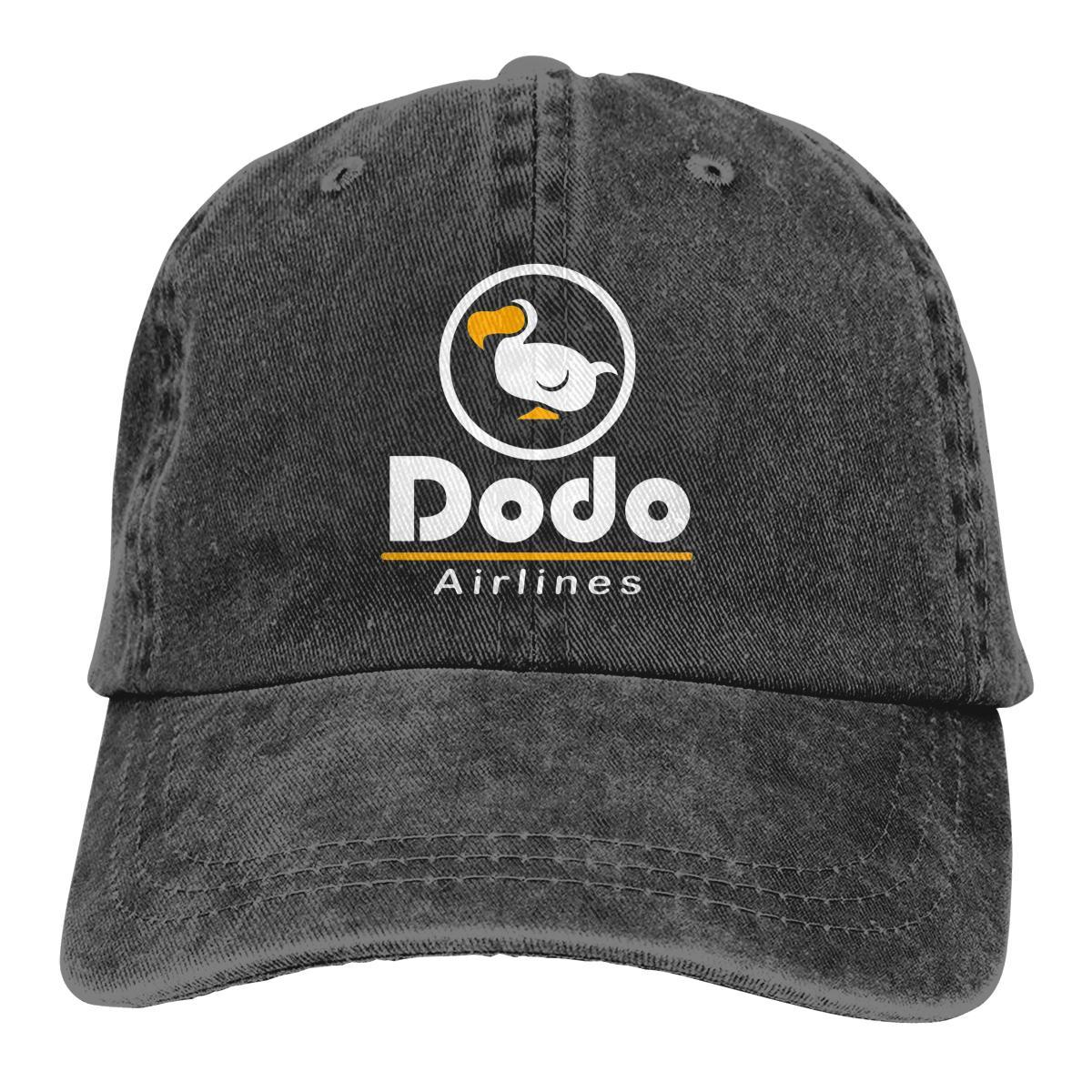 Boné de beisebol Dodo Airline chapéu de vaqueiro tampão repicado Animal Crossing New Horizons Chapéus