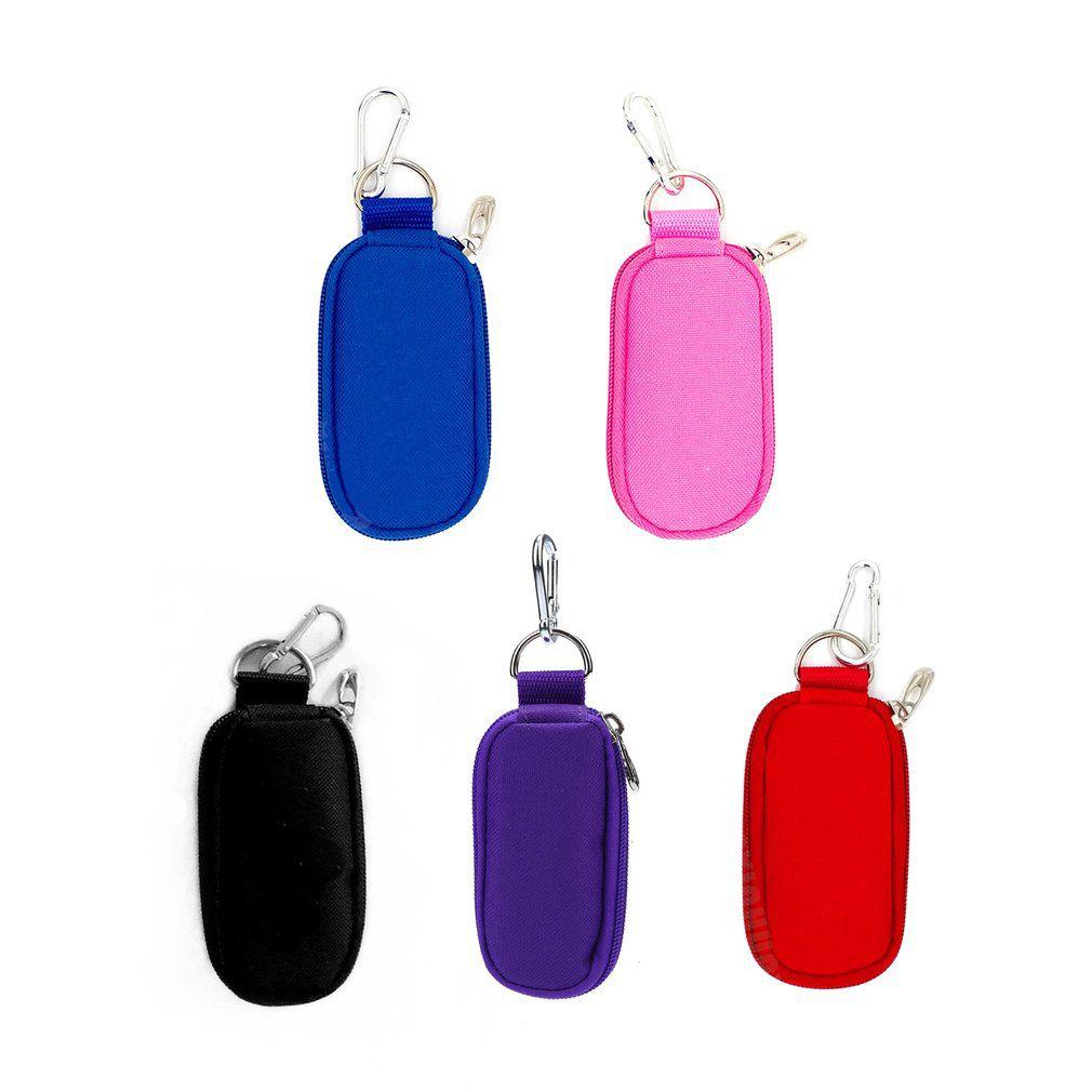 10 бутылок Эфирные масла для хранения сумки Портативный путешествия держатель 2мл Чехол Организатор Брелок Брелок Rangement Zipper Bag