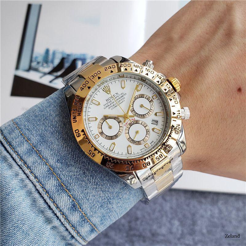 Hochwertige Herren Luxusuhren brandneue Designer-Uhr Geschäfts Edelstahl moderne Armbanduhr TAG Armbanduhr Weihnachtsgeschenk Relógio r