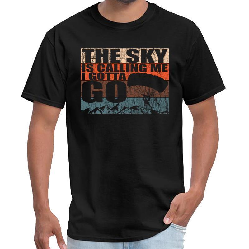 Baskılı Skydiver Skydiving Paraşüt Skydive Hediye mühür ekibi tshirt beyler bağbozumu erkek giyim t shirt büyük beden s ~ 5XL hiphop t