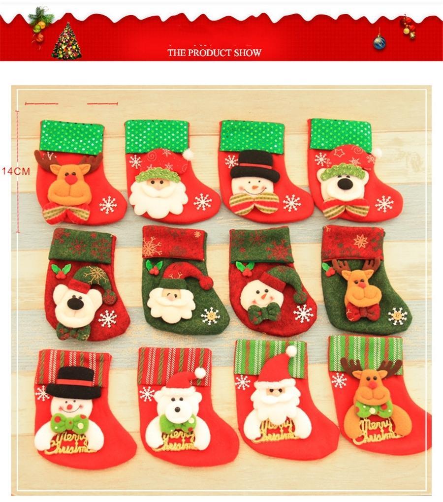 Toptan-Yeni Moda Kalın Yün Noel Stoklar Erkekler Kış Kaşmir Nefes Noel Stoklar # 897