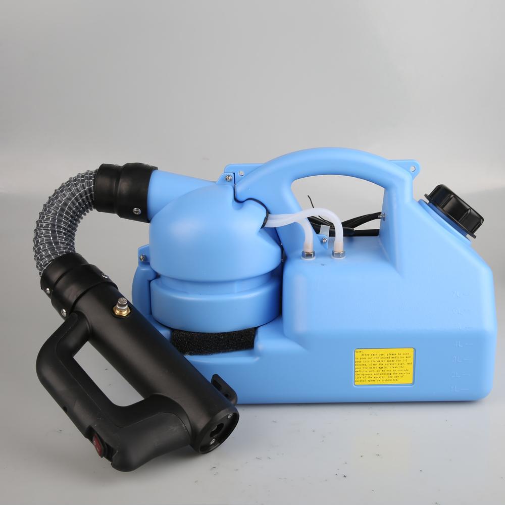 110V / 220V 7L eléctrico Fría nebulizador Insecticida atomizador ultra baja capacidad de desinfección del asesino del mosquito pulverizador ULV en frío Fogger Nueva DWC959