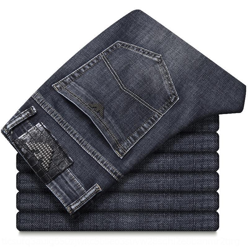 v0Bii xagG3 pantolon yaz streç erkek düz gevşek gündelik geçici kot kot erkek ve 20 ince pantolon