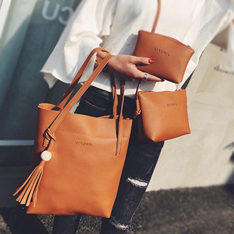 2020 дизайнер три частей моды роскошные женщины кисточки сумки марки Различные сумки винтажные сумки деревянные новые шарики сумка на плечо / рука HAN NWSQ