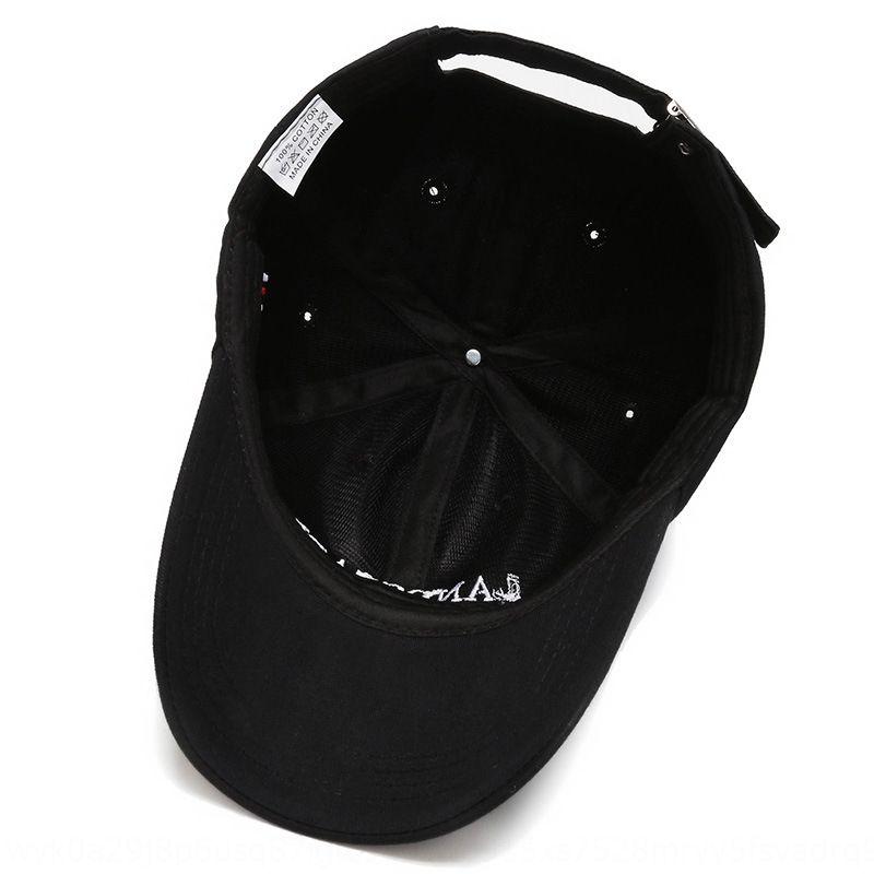 X8e27 Moda güneşlik çift tarzı Sivri Beyzbol beyzbol şapkası dinlence seyahat mektup işlemeli yetişkin kap düz doruğa