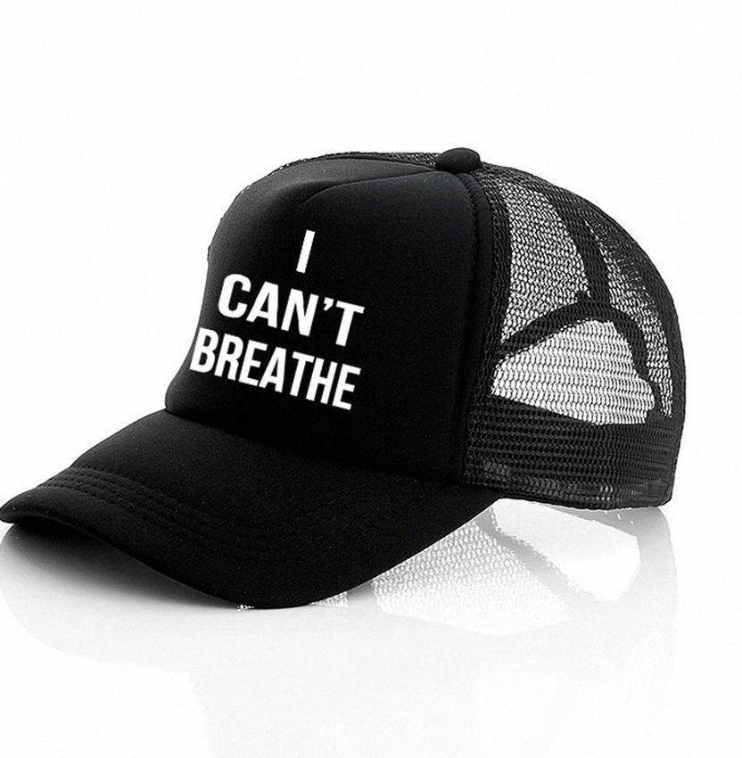 Non riesco a respirare cappello nero VIVE MATERIA, giustizia per il cappello del sole George Floyd del cappello di Snapback Uomini Baseball Cap LJJK2159 hGYX #