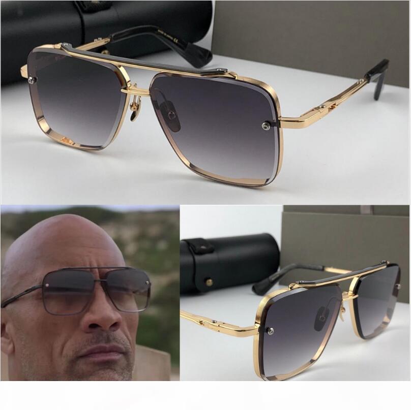 lusso occhiali da sole mens occhiali mens del progettista degli occhiali da sole donne dal design di lusso occhiali da sole uomini stile di moda cornice quadrata UV 400 lenti