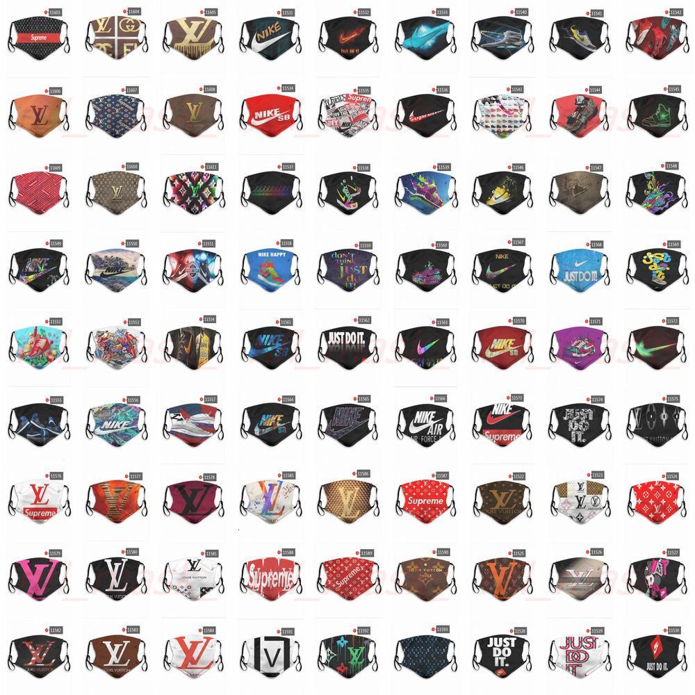 TQI8 лицо DHL Designer Free WW06 маски Экспресс Различные маски марки многоразовые маски пыли цены завода может