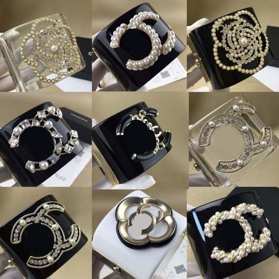 Top qualité de luxe de bijoux en perle d'or Bracelets en résine pour la mode femmes fille cadeau bijoux bracelet