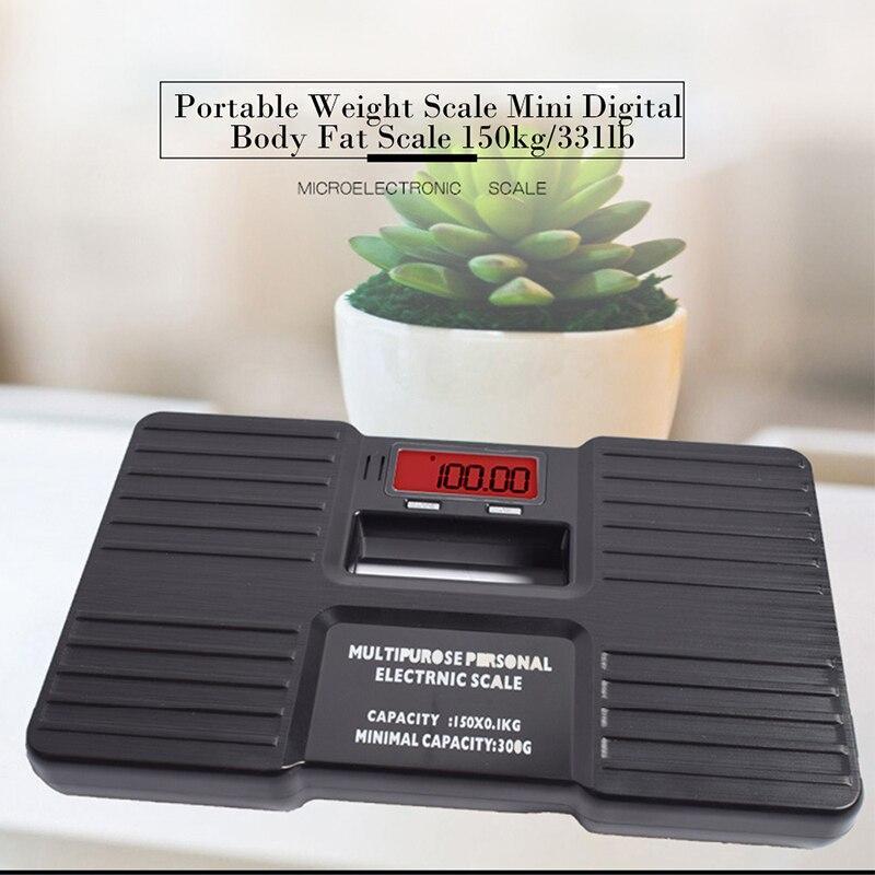 150 kg 0,1 kg Digital Peso balanças de precisão eletrônica Banho Corpo Piso Escala balanço banheiro Saúde portátil