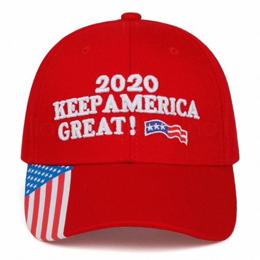 Donald Trumps'ları Beyzbol Şapkası ABD Bayrağı 2020 Tut Amerika Büyük Yine Harf İşlemeli Açık Yetişkin Sunhat Parti Favor FFA4077 1 Chocol RZEf #