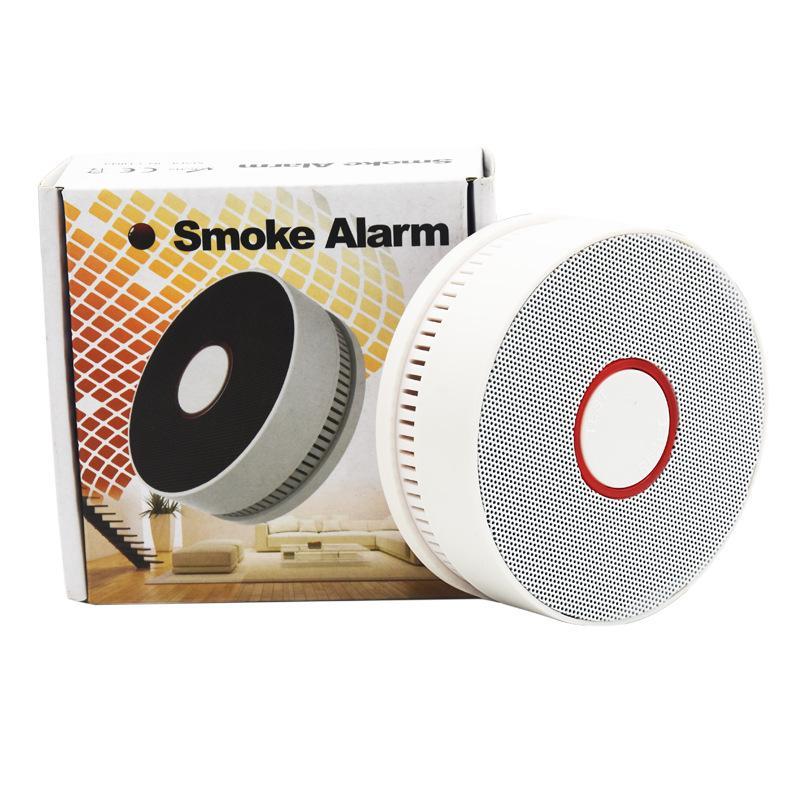 10 ans d'alarme de fumée d'alarme de fumée d'alarme d'incendie système d'alarme d'incendie Sens de fumée Capteur de fumée Détecteur de maison photoélectrique