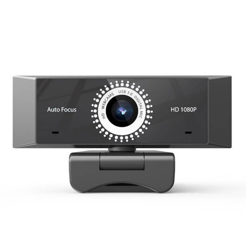 Новые USB 2,0 2MP 1080P HD Webcam Auto Focus AF-Drive бесплатно Компьютер Веб-камера Встроенный микрофон для видео конференции Интернет Live
