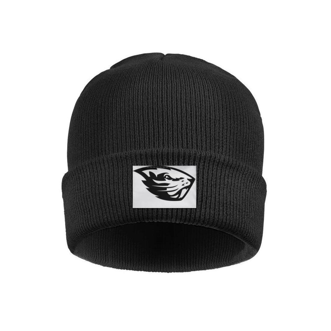 Мода Орегон Бобры футбол логотип Зимние теплые часы Beanie Hat винтажные шляпы черный камуфляж Gay гордость радуги Золото Stroke белый