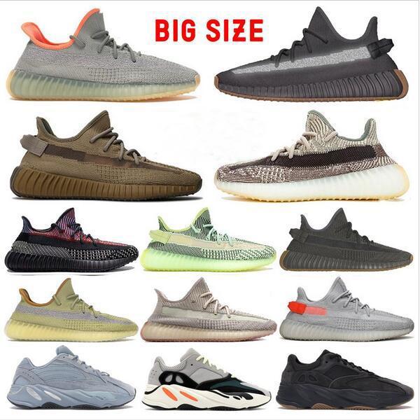 top Kanye West v2 700 v3 scarpe di zolfo di cenere ZYON pegno breds Oreos statica scarpe salvia del deserto coda yecheil luce uomini donne scarpe da corsa