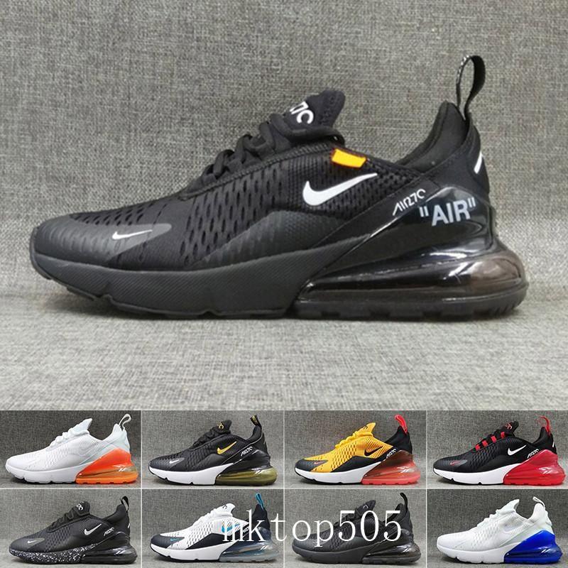 nike air max 270 270s 27c airmax Femmes Chaussures de course Hot Corss Randonnée marche Hommes Chaussures Outdoor Cushion Baskets Designer Casual Chaussures Baskets IYJ6Q