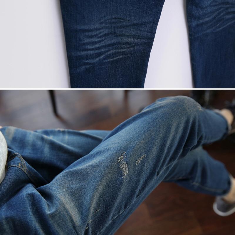 repMA 2020 nuevos pantalones vaqueros del estiramiento pantalones vaqueros otoño ropa de mujer de tamaño 260kg de mezclilla harén y los pantalones de grasa mm de altura de la cintura pantalones de mezclilla