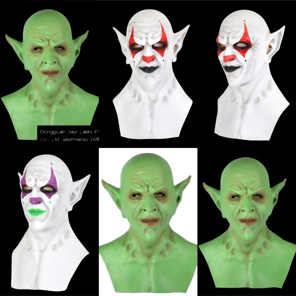 RSfW3 lumière lumineux masque à commande vocale LED Bar KTV boule de vacances Masque Masque Lumière cosplay EL lumière froide Halloween Clown Forme Se
