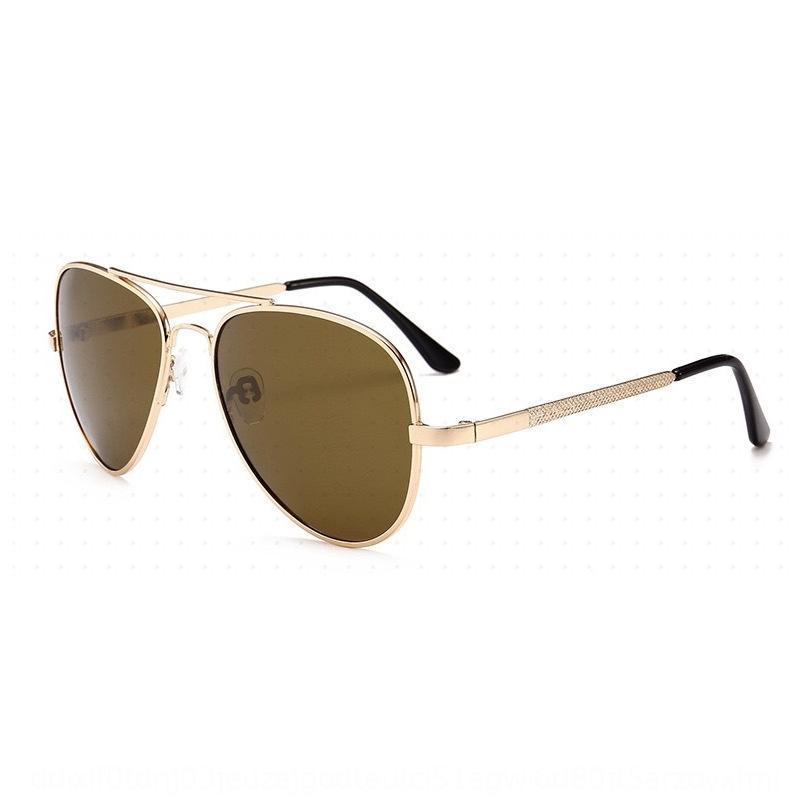gafas de sol polarizadas 2020 nuevas gafas de sol UV a prueba de almeja sol del marco del metal de la moda para hombres y mujeres