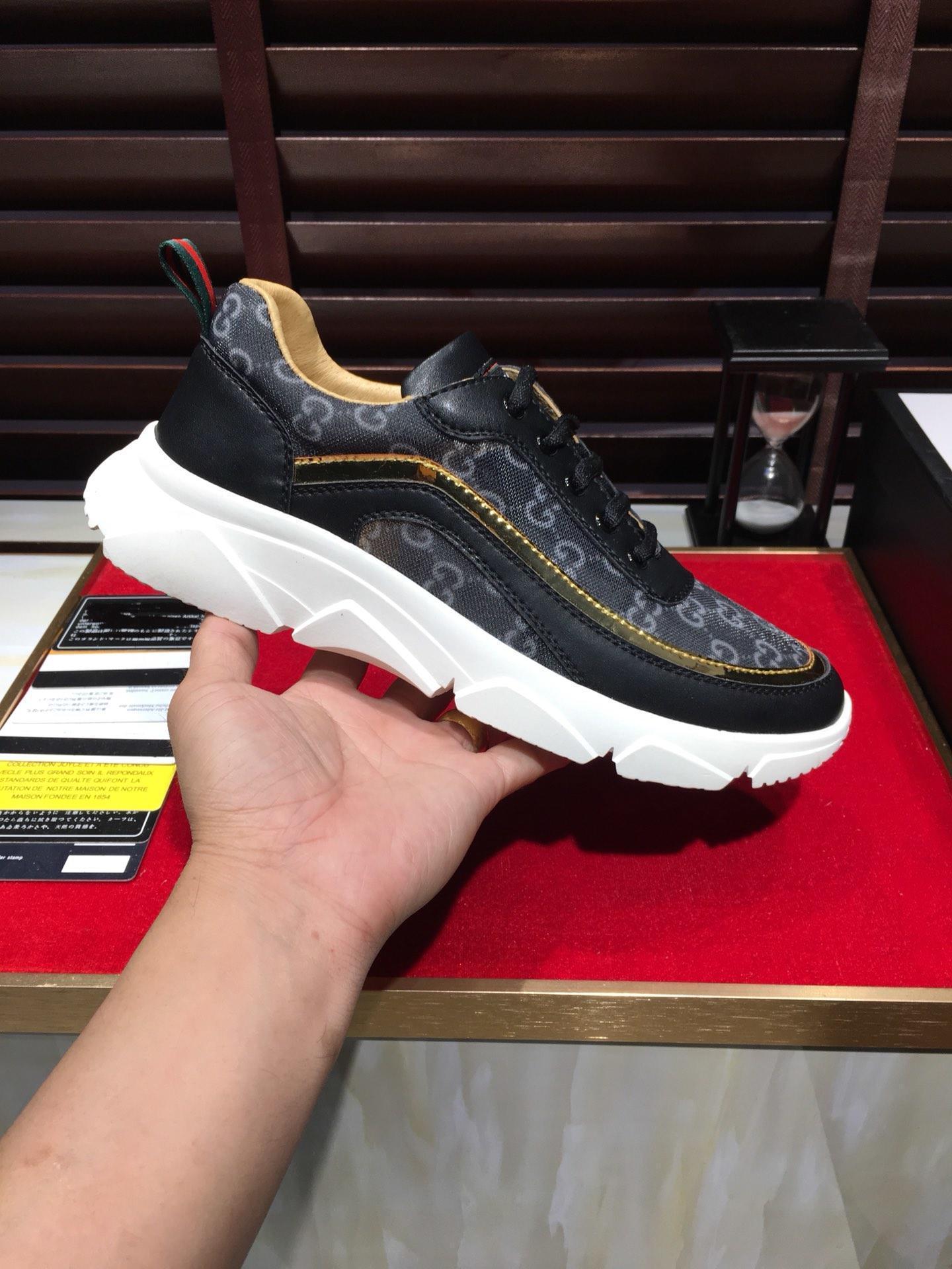 2021j Neue Männer '; S-beiläufige Sport-Schuhe, Qualitäts-Marken-Mode im Freienschuh, Lieferung mit ursprünglichem Schuhkarton, Größe 38 -45