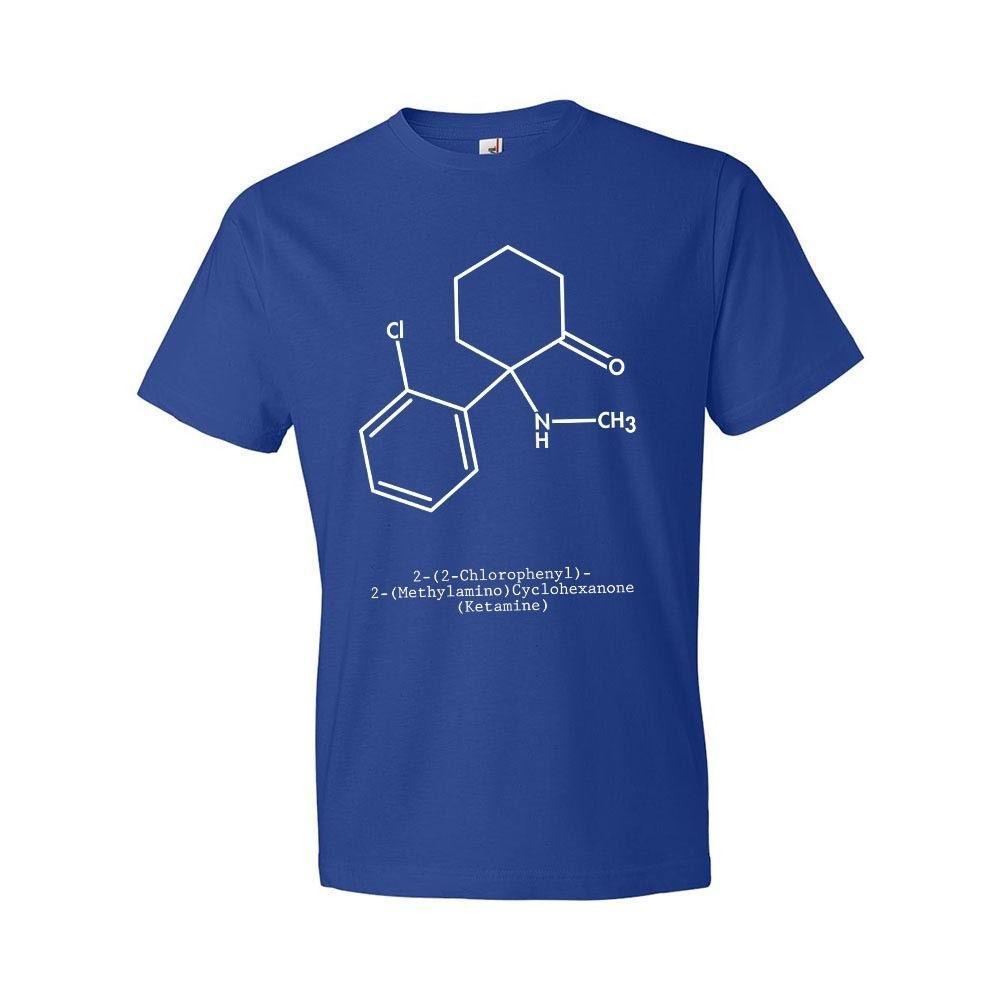 Magliette di modo 2020 T-shirt Molecola Scienza T-shirt Veterinario regalo girocollo Uomini Short-Sleeve