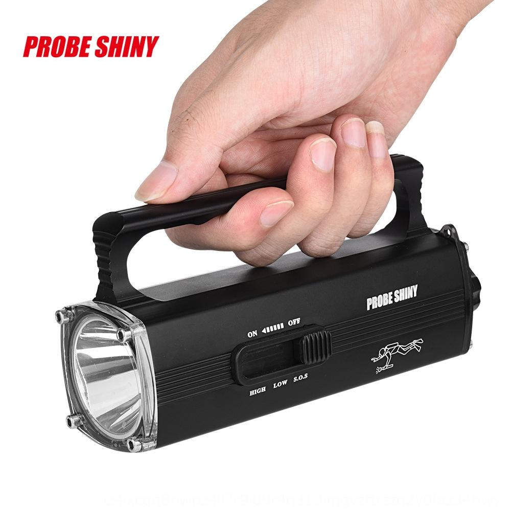 buceo de alta potencia al aire libre ing portátil remoto impermeable LED flash de la linterna recargable L2 fuerte aleación ligera de aluminio