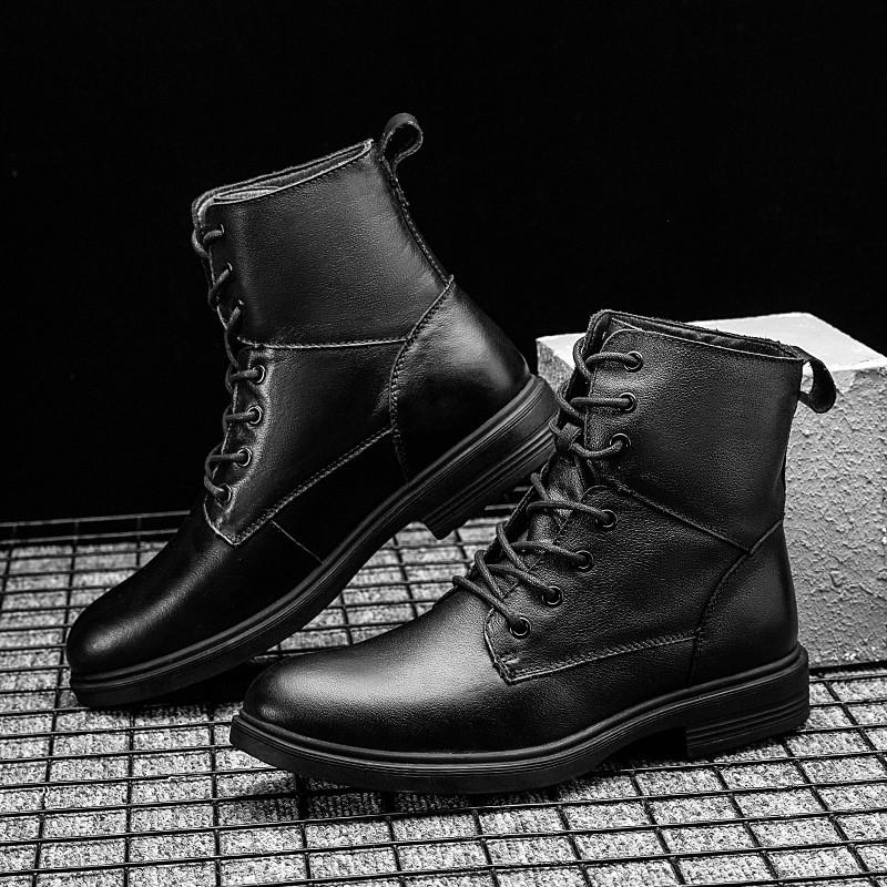 Мужчина для верхних ботинок весны способа Mens Hightop кроссовок мужских высоких причинной продажи спортивных мужчины кожи горяча для черной обуви людей отдыха