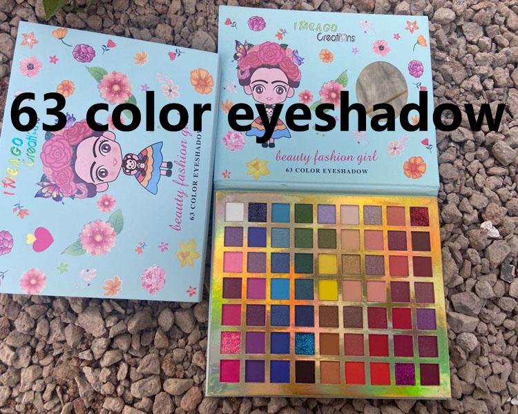 IMEAGO ERIENIANS EYE Shadow Paletes 63 ألوان ERENIANS EYE Shadow Palettes ظلال العيون Shimmer