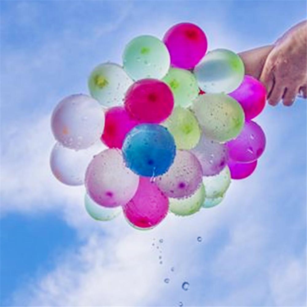 Magic Wasser Ballon Latex Buntes Wasser gefüllten Ballon-Party-Spiel Spielzeug 111pcs für Kind Spaß-Sommer