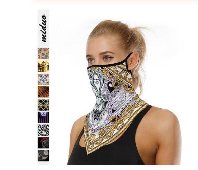 Yürüyüş Eşarp Bisiklet Yüz Maskeleri Boyun Çok Fonksiyonlu Hafif Nefes Toz geçirmez Açık Tırmanma Anti-ter Hairband Bisiklet Maskeleri