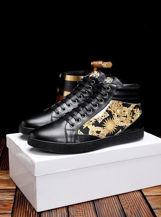 2019ss di lusso degli uomini '; S Moda scarpe casual, scarpe selvaggio sportivo in pelle, pizzo -Up Shoes, imballaggio originale Consegna 38 -4511