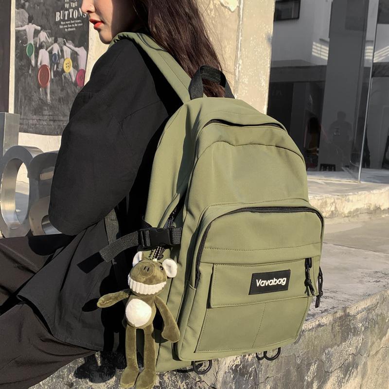 DCIMOR нового водонепроницаемого мешок нейлона качества Школы Женщина Рюкзак Женщина высокой для девочек-подростков, путешествие рюкзака колледж Книга Mochila CX200808
