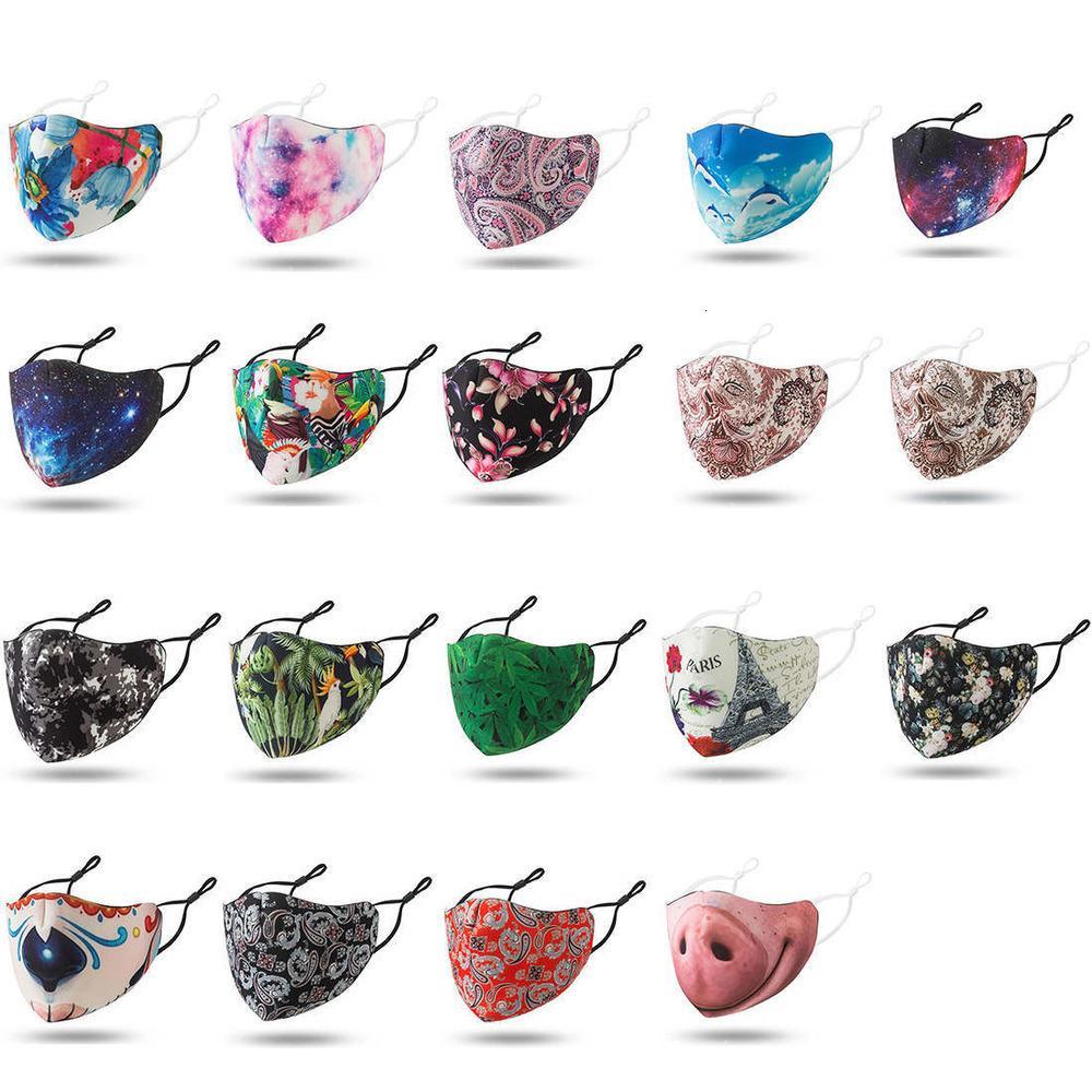Masques Remai998 Designer Mascherine Haute Mascarilla Mode Lavable Tissu 20cvie