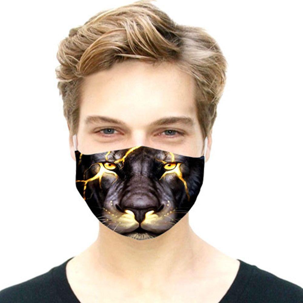 الحيوانات 3D مصمم وجه قناع وجه القطن قابلة لإعادة الاستخدام أقنعة صيف الرياضة في الهواء الطلق ركوب أقنعة مصمم أزياء قناع DHL مجانا