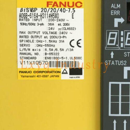 Fanuc A06B-6164-H311 # H580 Servo Amplificateur Marque New Assurance Qualité