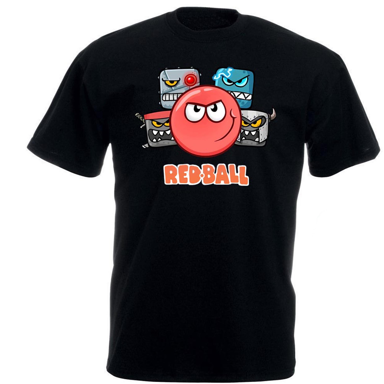 T-shirt drôle hommes nouveauté T-shirt Femmes Red Ball 4 L'équipage T-shirt 010677